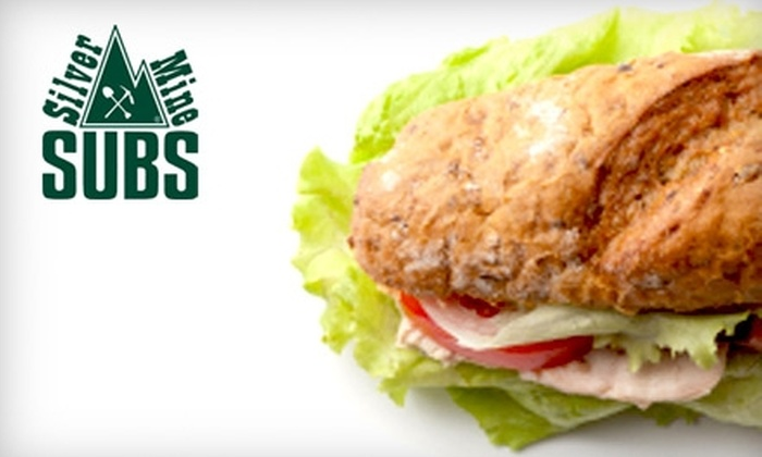 Silver Mine Subs - Madison: $6 for $12 Worth of Sandwiches, Salads, and More at Silver Mine Subs