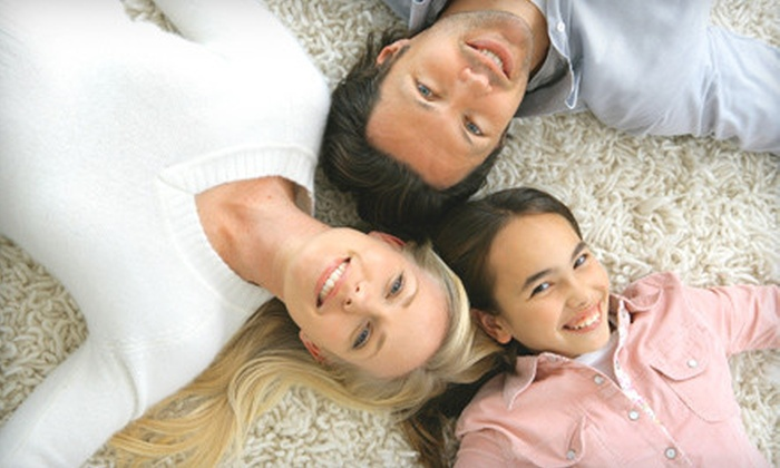 Ultra Brite Carpet Cleaning - Plano: Three or Five Rooms of Carpet Cleaning from Ultra Brite Carpet Cleaning (Up to 58% Off)