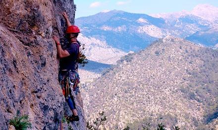 Bautismo de escalada para una, dos o cuatro personas desde 19,95 € con Mallorca Activities