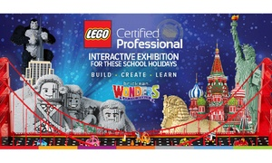 Brickman: Brickman Experience Ticket Offer - Entry From $20.25: 22 June - 30 July, Perth Convention and Exhibition Centre