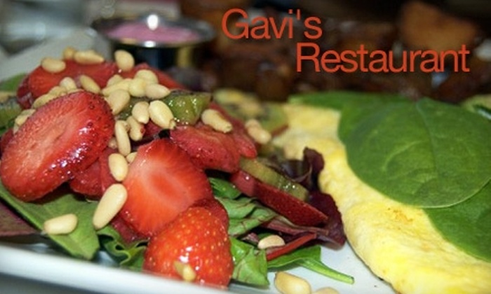 Gavi's Restaurant - Central Business District: $5 for $10 Worth of Russian, Italian, and American Fare at Gavi's Restaurant