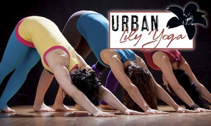 Urban Lily Yoga - Van Nuys: $37 for Five Classes at Urban Lily Yoga in Sherman Oaks