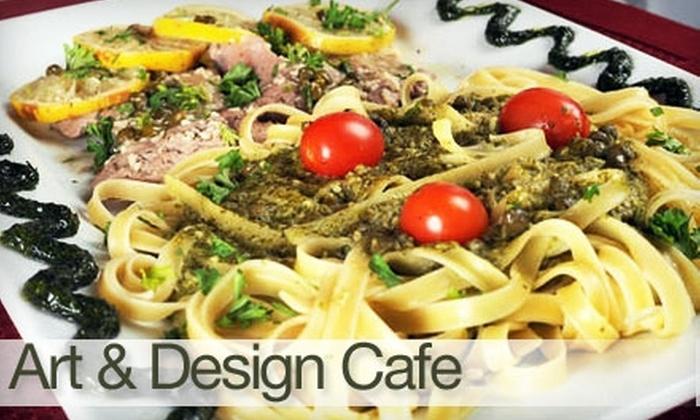 Art & Design Café - North Fort Lauderdale: $25 for $50 Worth of Creative Cuisine and Drinks at Art & Design Café