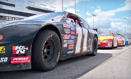 4-Lap Shotgun Stock-Car Ride-Along Experience (a $129 value) - Rusty Wallace Racing Experience in Joliet