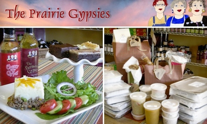 The Prairie Gypsies - Edgemere Park: $10 for $25 Worth of Home-Style Meals and Gourmet Foodstuffs at The Prairie Gypsies