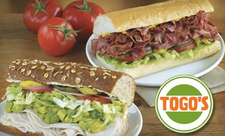 Togo's at 2900 Standiford Ave. in Modesto: $10 Groupon - Togo's in Modesto