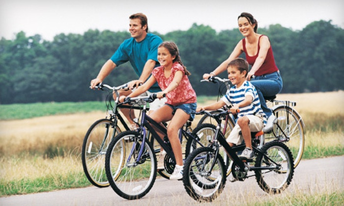 EcoTourz - Sandwich: Cape Cod Bike Rentals for Two or Four from EcoTourz in Sandwich