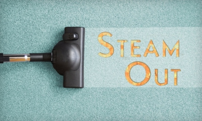 Steam-Out - South Roebuck: $49 for Three Rooms of Carpet Cleaning