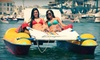 Newport Fun Tours - Newport Pier: Two-Hour Electric-Lounger, Kayak, or Paddleboard Rental from Newport Fun Tours in Newport Beach (Up to 55% Off)