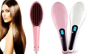 Ceramic Hair-Straightener Brush at Ceramic Hair-Straightener Brush, plus 9.0% Cash Back from Ebates.