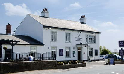 image for Three-Course Meal for Two or Four at White Bull At Alston (Up to 48% Off)