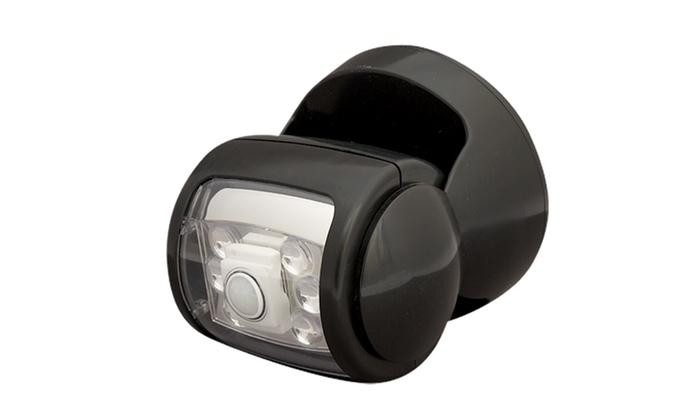 Jusqu 39 68 projecteur ext rieur led sans fil groupon for Projecteur exterieur sans fil