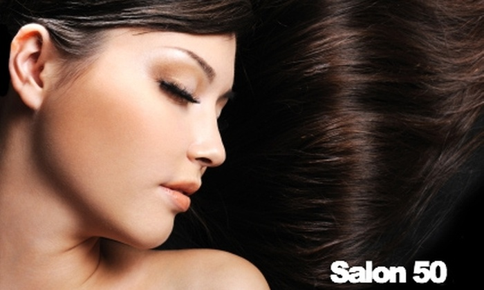 Salon 50 - Grand Rapids: $30 for $60 Worth of Hair and Waxing Services at Salon 50