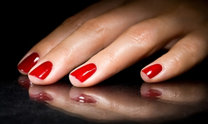 Beaute Box - Webster Station: Shellac Manicure or Waxing at Beaute Box