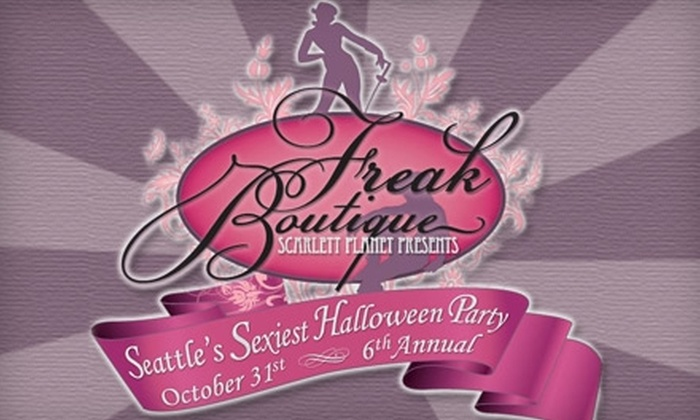Seattle Freak Boutique - Pioneer Square: $40 for Two Tickets to Seattle Freak Boutique Halloween Party at Trinity Nightclub (Up to $80 Value)