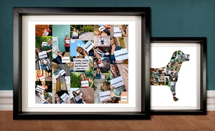 $30 Groupon for Digital Photo Collages  - ScrapWalls in