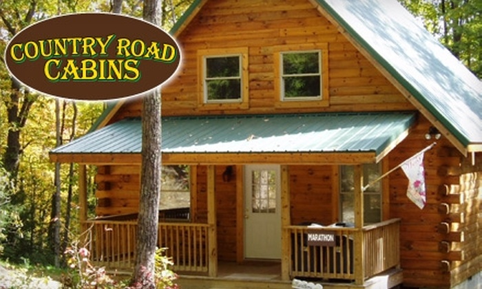 Country Road Cabins - New Haven: $150 for a One-Night Stay in a Two-Bedroom Cabin at Country Road Cabins in Hico, West Virginia (Up to $355 value)