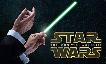 Tickets voor filmmuziek-concert The Star Wars Suite op 5-20 nov 2018 op tien locaties in Nederland
