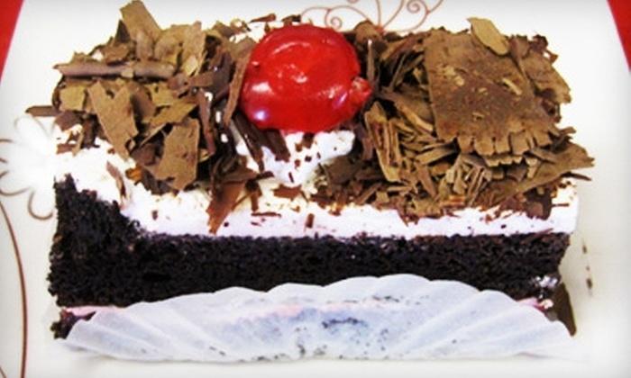 M&W Dutch American Bakery - Galt: $8 for $16 Worth of Cakes, Pastries, and More at M&W Dutch American Bakery