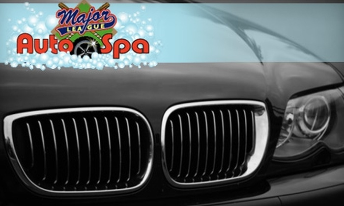 Major League Auto Spa - Naperville: $16 for a Car Wash and Wax at Major League Auto Spa in Naperville ($33 Value)
