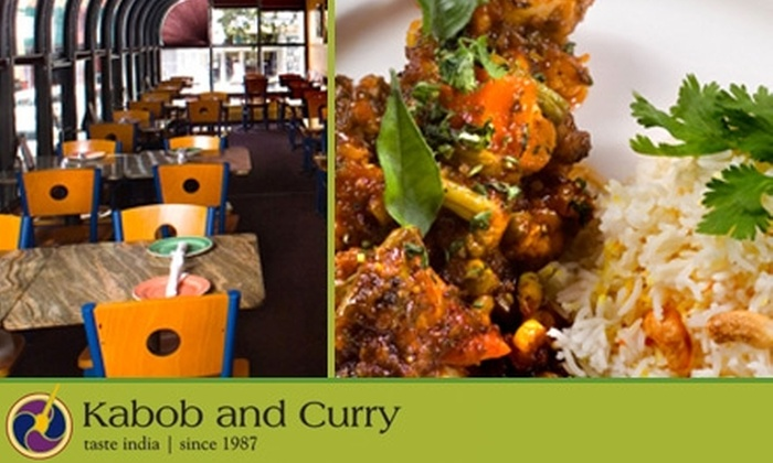 Kabob and Curry - College Hill: $15 for $35 Worth of Indian Fare and Drink at Kabob and Curry