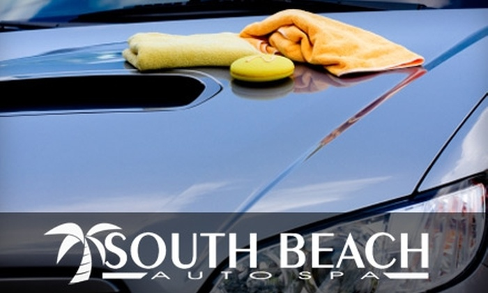 South Beach Auto Spa - Fourth Ward: $15 for an Executive Wash at South Beach Auto Spa