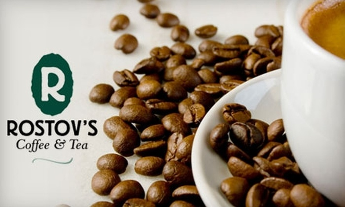 Rostov's Coffee and Tea - The Fan: $12 for $24 Worth of Gourmet Coffee, Tea, and More at Rostov's Coffee & Tea