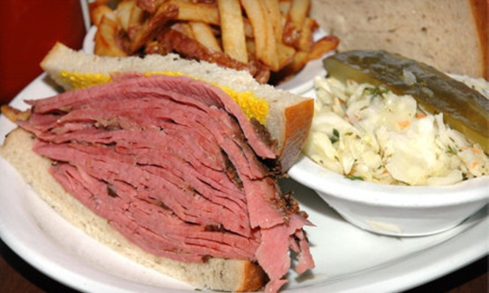 Dunn's Famous - Centretown - Downtown: Deli-Style Food and Drinks or Catering at Dunn's Famous (Half Off)