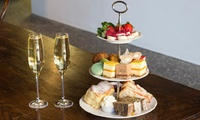 $49 for Homemade High Tea with Sparkling Wine for Two People at Cheeky Chocolate, North Strathfield (Up to $98 Value)