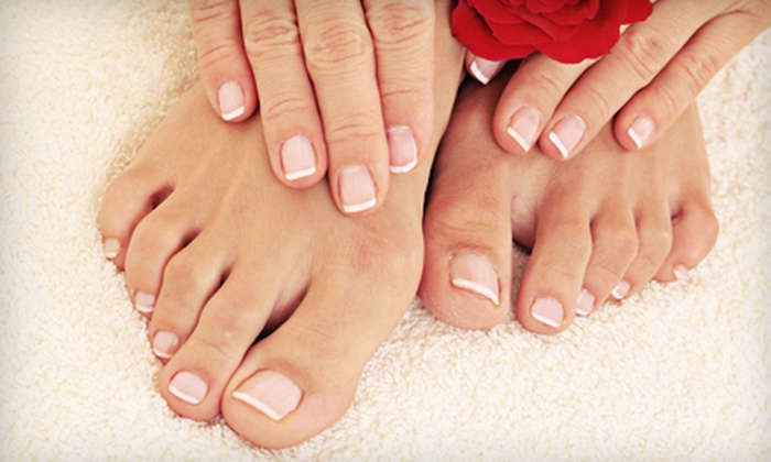 A Better Place - Fishers: Basic or Spa Mani-Pedi at A Better Place (58% Off)