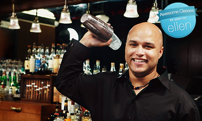 Professional Bartenders School - Richland Villas: Two-Week Professional Mixology Course or Six-Hour Introductory Bartending Course at Professional Bartenders School