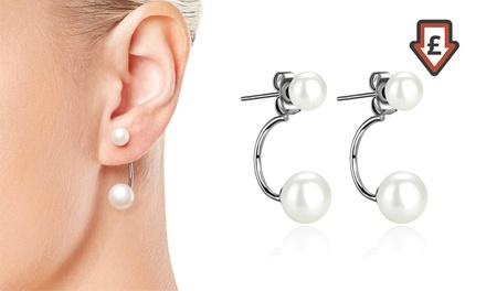 One or Two Pairs of Philip Jones Pearl Drop Earrings