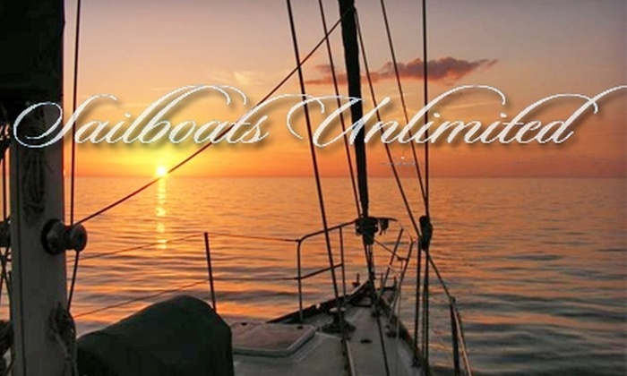 Sailboats Unlimited - Old Naples: $25 for Two-Hour Sunset Sail from Sailboats Unlimited ($50 Value)