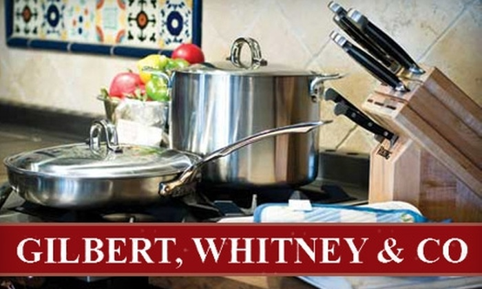 Gilbert, Whitney & Co. - Kansas City: $10 for $25 Worth of Specialty Groceries and Kitchenware at Gilbert, Whitney & Co. in Independence
