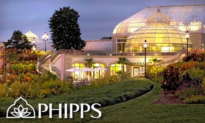 Phipps Conservatory - Squirrel Hill South: $12 for Two One-Day Passes (up to $24 Value) to Phipps Conservatory