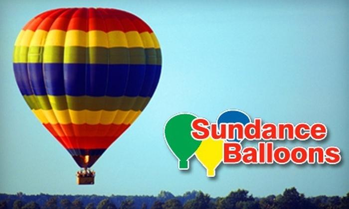 Sundance Balloons - Murrayville: $139 for a Hot Air Balloon Ride ($295 Value) or $249 for Two Hot Air Balloon Rides ($590 Value) from Sundance Balloons