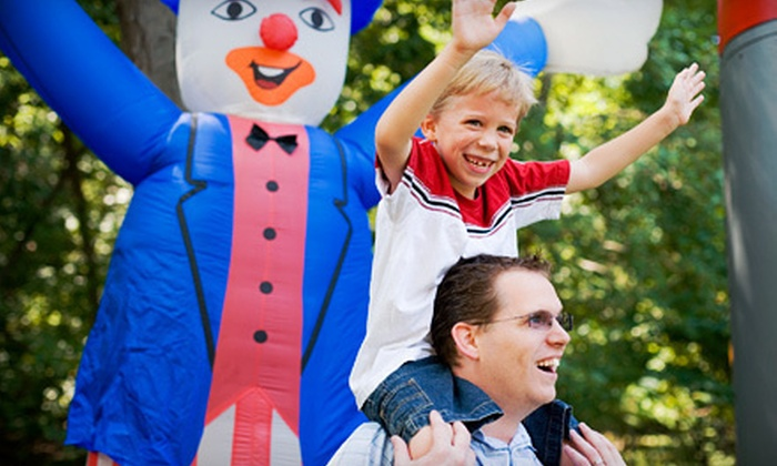 Piedmont Family Fun Fest - Greensboro: $10 for Piedmont Family Fun Fest Visit for One from the Greensboro Jaycees in Greensboro ($20 Value)