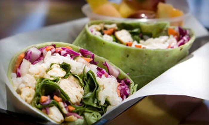 That's a Wrap - Camelback East: $7 for $14 Worth of Fresh Wraps, Salads, and Rice Bowls at That's a Wrap