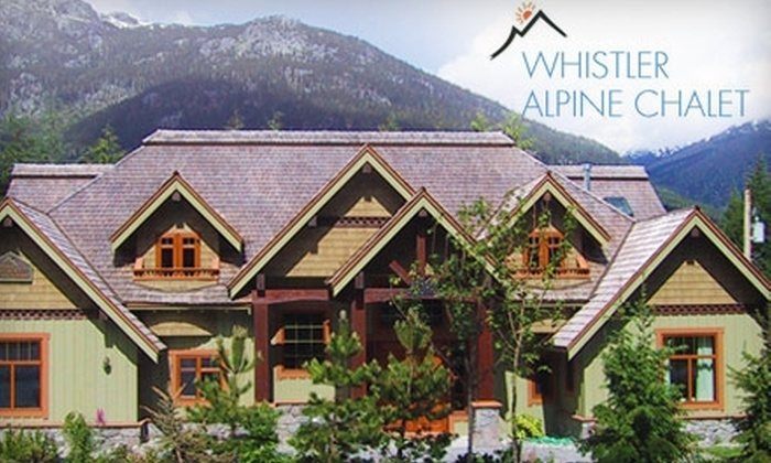 Whistler Alpine Chalet Retreat & Wellness - Whistler: $179 for a One-Night Stay and Three-Course Breakfast at Whistler Alpine Chalet Retreat & Wellness