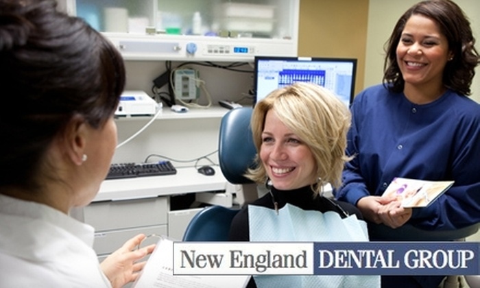 New England Dental Group - Multiple Locations: $179 for One Zoom! Teeth-Whitening Session at New England Dental Group ($499 Value)