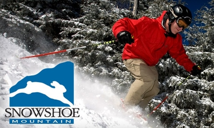 Snowshoe Mountain - Columbus: $79 for Two Adult Lift Tickets at Snowshoe Mountain (Up to $158 Value)