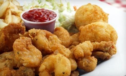 $25 Groupon to The Original Frilly's Seafood Bayou Kitchen - Original Frilly's Seafood Bayou Kitchen in Denton