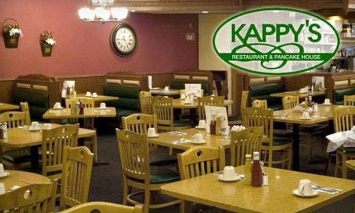 Kappy's Restaurant - Morton Grove: $15 for $30 Worth of Breakfast Fare and More at Kappy's Restaurant & Pancake House in Morton Grove