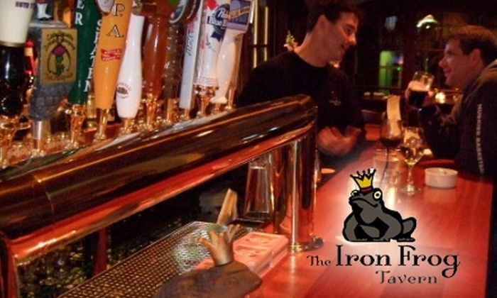 The Iron Frog Tavern - Simsbury: $10 for $20 Worth of Pub Fare at The Iron Frog Tavern