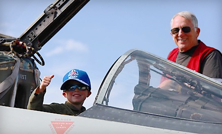 2 All-Ages Admission Tickets (up to a $16 value) - Aerospace Museum of California in McClellan