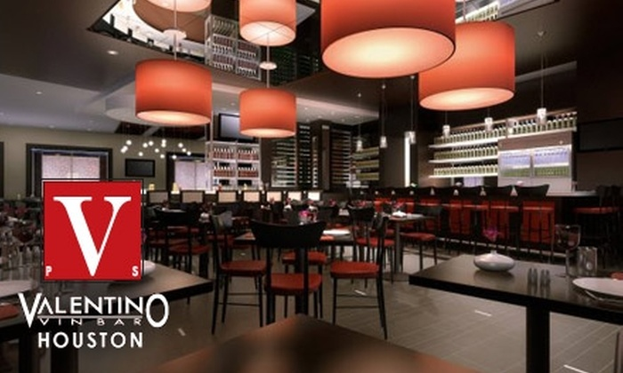 Valentino Houston - Afton Oaks/ River Oaks: $35 for $70 Worth of Italian Cuisine and Non-Alcoholic Drinks at Valentino Houston