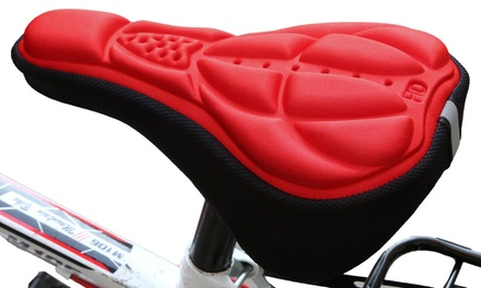 Housse de selle de bicyclette avec rembourrage en gel 3D