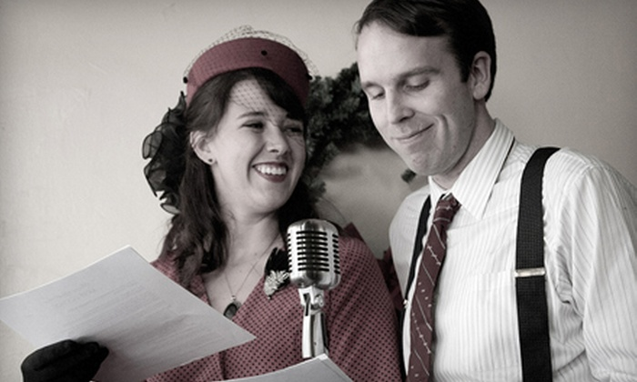 """It's a Wonderful Life: A Live Radio Show - Round Rock Original Plat: $20 for Two Tickets to Penfold Theatre Company's """"It's a Wonderful Life"""" in Round Rock ($40 Value). Four Options Available."""