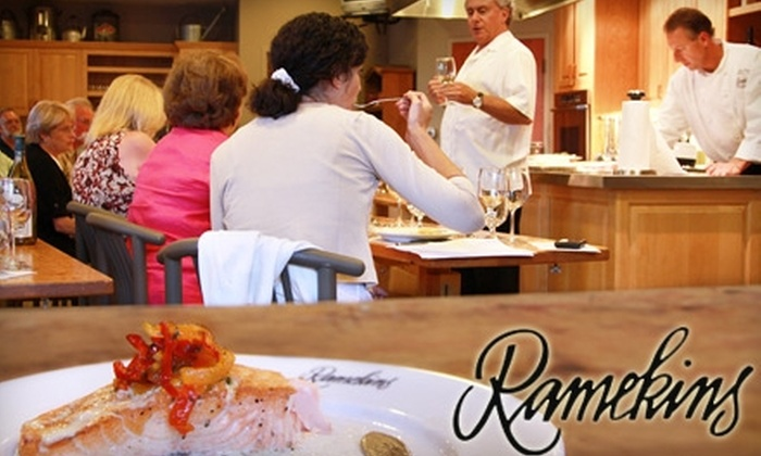 Ramekins Culinary School, Events & Inn - Sonoma: $120 for Chef's Table Cooking Class for Two, Plus 30% Off One- or Two-Night Stay, at Ramekins Culinary School, Events & Inn ($292 Value)