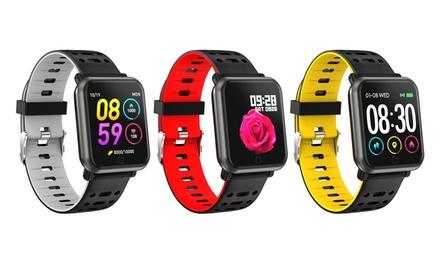 1 o 2 smartwatches cuadrados resistentes al agua IP68